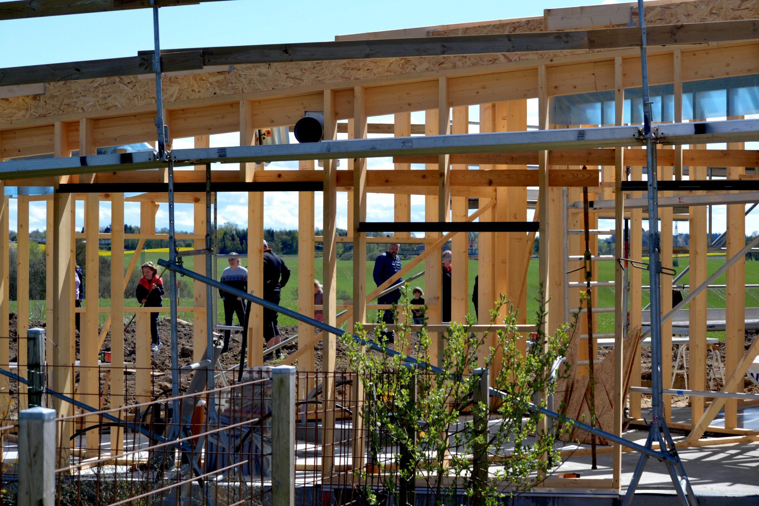 Fælleshus byggeri